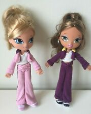 Two Bratz Kidz Cloe and Yasmin Dolls from Tandem Bike Set