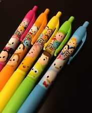 Disney TSUM TSUM colored ink BALLPOINT 5 colors set IMPORT JAPAN From Japan