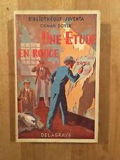Conan Doyle - Une étude en rouge - Bibliothèque Juventa - 1951 - BE