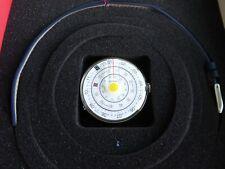Klokers KLOK-01 Yellow Swiss Made Quartz 44 mm w Vintage Blue Leather Strap