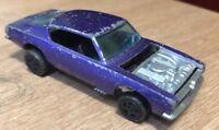 Hot Wheels Redline Plymouth Barracuda Purple Interior Very Rare Mattel 1967