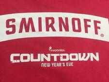 SMIRNOFF Moscow Vodka I.D CHECKER Security DUI Shot Squad Party CLUB T-shirt M