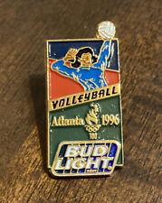 Bud Light Atlanta 1996 Olympics Volleyball Enameled Hat Lapel Pin Tie Tack 3-46