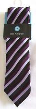 Neuf GARÇON Cravate Age 7-10 Ans Autographe Marks & Spencer Violet Mélange