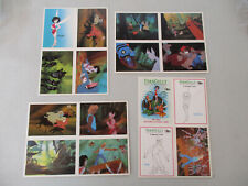 Fern Gully Promo Car Set Lot Dart Flipcards Fantasy Children Movie Vintage 1992