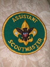 Boy Cub Scout Vintage Assistant Scoutmaster Patch