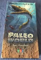 Paleo World VHS Sea Monsters The Learning Channel 1994