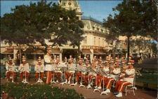 Disneyland Band Town Square Main St. Postcard