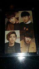 Infinite Season Greetings 2015 official photocard Card kpop k-pop  u.s seller