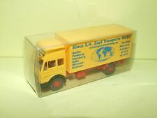 CAMION MERCEDES BENZ KLAUS WIKING HO 1:87