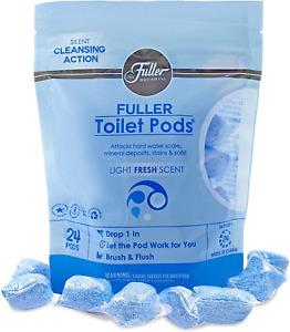 Fuller Brush Toilet Bowl Cleaner Pods – Easy Toilet Cleaner Bathroom Refresh