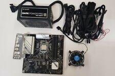 Mainboard Cpu Gaming Bundle, Intel Core i7 9700, Gigabyte z390m, be quiet 550w