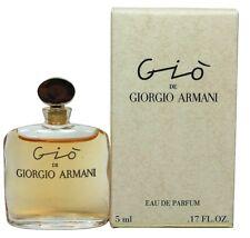 Gio By Giorgio Armani 0.17 oz Edp Splash Mini For Women New in Box