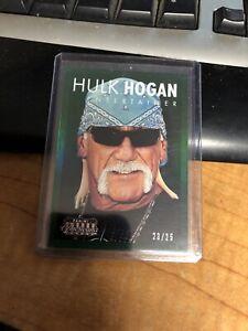 2015 Panini Americana green 23/25  Hulk Hogan WWE WWF WCW