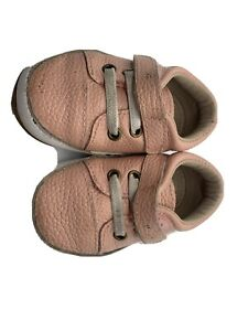 6-12 Month Used Monkey Feet Pink Toddler Girl's  Shoes