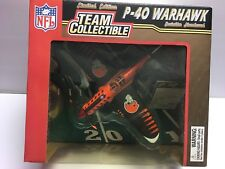2004 Fleer CLEVELAND BROWNS - P-40 Warhawk Fighter Diecast 1:48 Scale Plane