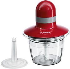 Bosch MMR08R2 Universal Zerkleinerer 400W 0,8 Liter rot/grau - NEUTEIL-