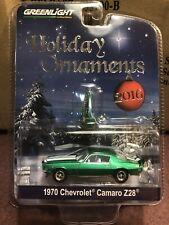 Greenlight 2016 Holiday Ornaments 1970 Chevrolet Camaro Z/28 Sale!