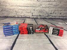 Lot Of 15 Blank Audio Cassette Tapes TDK JVC MEMOREX New D90 D60