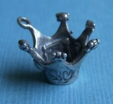 Mary Engelbreit Queen crown sterling charm