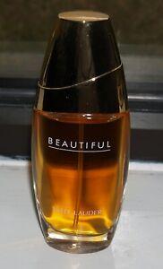Estee Lauder BEAUTIFUL perfume Eau De Parfum 2.5 oz / 75 ml Women's 95%