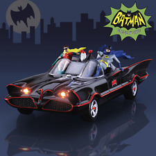 BATMAN TV Series BATMOBILE Sculpture With Lights And Music Of TV Theme Song NEW!