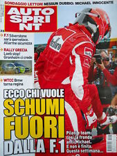 Autosprint n°23 2006 Michael Schumacher Ferrari - Rally Grecia Loeb Stop [P24]