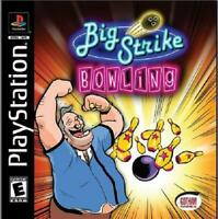 Big Strike Bowling Playstation 1 Game PS1 Used Complete