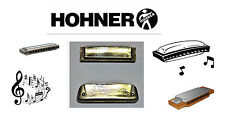 2PC. VINTAGE SUPER SONIC (? KEY) AND M. HOHNER GOLDEN MELODY (KEY F). HARMONICAS