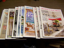 13952 Architectural Digest Magazine 10 issues 2013