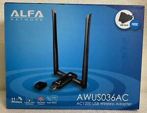 ALFA AWUS036AC 802.11ac USB Adapter