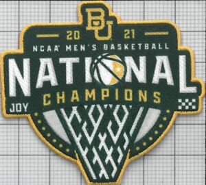 Official 2021 NCAA Men's Basketball Champions Baylor Bears Collectible Patch