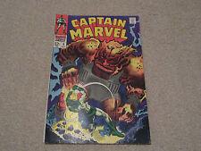 CAPTAIN MARVEL  Vol 1,No 6 -Marvel comics,Oct 1968-Path of Solam