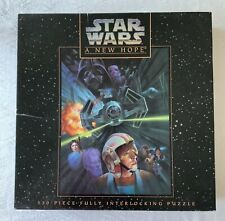 """Vintage STAR WARS A New Hope 549 Piece Jigsaw Puzzle 24x18"""""""