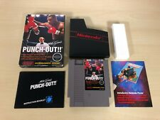 Mike Tyson's Punch-Out Complete Nintendo Game Original NES Vintage PunchOut