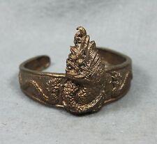 Bracelet Bangle Vintage King Naga Phaya Nak Thai Amulet Buddha Sacred Wristband