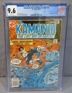 KAMANDI, THE LAST BOY ON EARTH #58 (Karate Kid app) CGC 9.6 NM+ Wht Pgs DC 1978