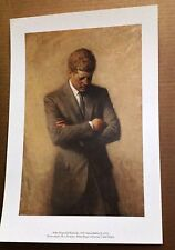 PRESIDENT JOHN KENNEDY JFK WHITE HOUSE ART PRINT SAR DAR TEACHER GIFT