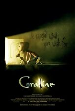 Coraline movie poster print (a) : 11 x 17 inches :  Animation
