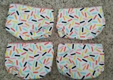 Lot of 4 x Clinique Cosmetic Makeup Bag Zipper Pouch Medium size (9*7*1 inch)
