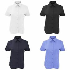 Women's Cotton Blend Collared Formal Tops & Shirts