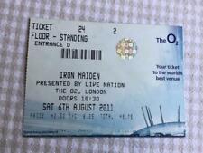 Iron Maiden ticket O2 Arena Manchester 06/08/11 #24-2