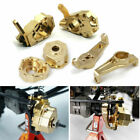 For 1:10 RC TRX-4 Upgrade Parts Brass Front Steering Knuckle C-Hub Portal Covers