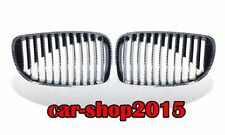 Front Kidney Grille Carbon Look For BMW 1 Series E81 E82 E87 E88 128i 135i