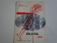 DILATOL PUBBLICITA' MEDICINALE IPOTENSIVO VASODILATATORE PERIFERICO II SEMESTRE.