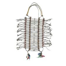 Costume Culture Men's Indian Chief Breastplate Deluxe One Size, White