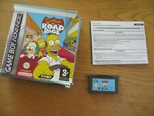 * THE SIMPSONS ROAD RAGE boxed -  NINTENDO GAMEBOY ADVANCE GBA