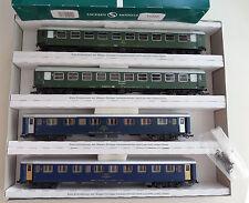 SACHSENMODELLE H0 14010 *NEU* Wagenset 4-teilig Balkan-Express II, Epoche IV