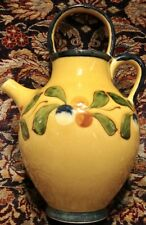 Pastis & Co. French Yellow green fruits Jug, from France, Sud & Co.