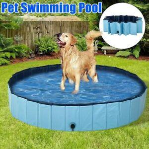 Dog Swimming Pool Foldable Pet Swimming Tub Dogs Cats Bathing Pool Pet Supplies